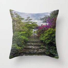 Enchanted Garden Throw Pillow