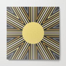 Sunny Vibe Metal Print