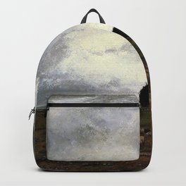 George Inness - The Storm - Digital Remastered Edition Backpack