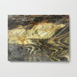 Artistic Natural Stonework Metal Print