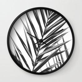 Palm Leaf No3 Wall Clock