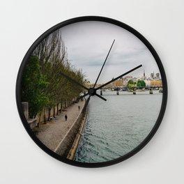 The Seine II Wall Clock