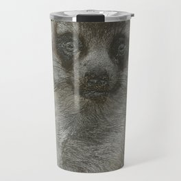 Metal Meerkat Travel Mug