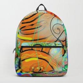 Taino Echoes - Puerto Rico Tribal Ethnic Art Backpack