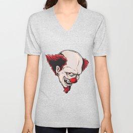 Crazy Clown Unisex V-Neck