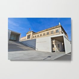 James-Simon-Gallery on the Museum-Island in Berlin Metal Print