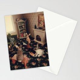 Bunny Book Club Stationery Cards