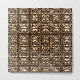 Ornate Metal Structure Metal Print