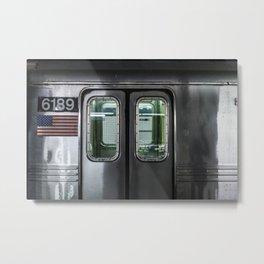 New York City Subway Metal Print