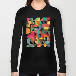 Color Blocks Langarmshirt