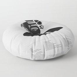 Hannibal Lecter Phrenology Floor Pillow