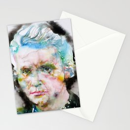 MARIE CURIE - watercolor portrait Stationery Cards