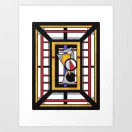 Geo 34 = Abstract Geometric Design Art Print