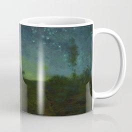"Jean-François Millet ""Starry night"" Coffee Mug"