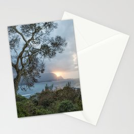 Sunset Over Hanalei Bay from St Regis Stationery Cards