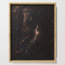 Hubble Space Telescope - The Veil Nebula Serving Tray