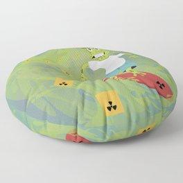 Toxictoad Floor Pillow