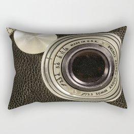 Vintage Argus camera Rectangular Pillow