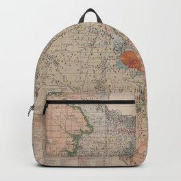 Vintage Geological Map of Texas (1920) Backpack