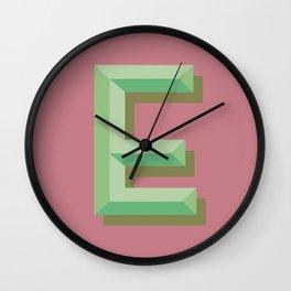 E Wall Clock