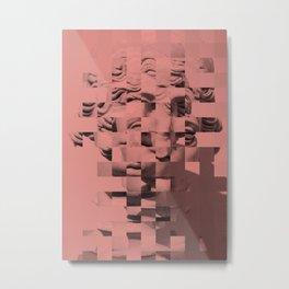 Pink sculpture Metal Print