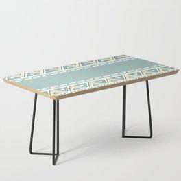 Colorful Geometric Boho Style 1 Coffee Table