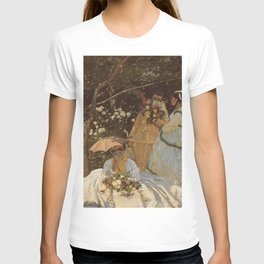 Monet- Women in the Garden, nature,Claude Monet,impressionist,post-impressionism,painting T-shirt