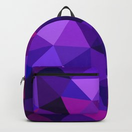 Crystal Galaxy Low Poly Backpack
