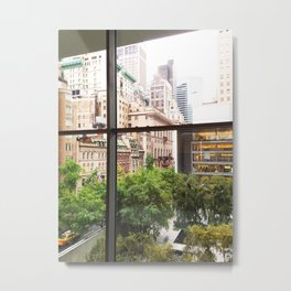 115. Room with view, New York Metal Print