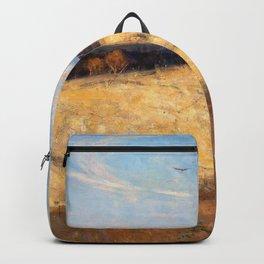 Arthur Streeton - Golden Summer, Eaglemont - Digital Remastered Edition Backpack