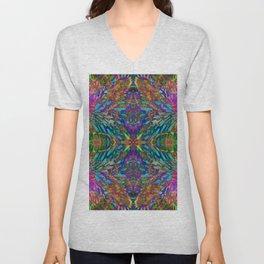 Buddha 5 geometry III Unisex V-Neck