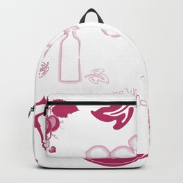 Wine Background Pattern - 05 Backpack