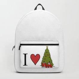 I Love Christmas Backpack