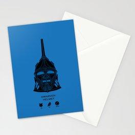 Dwarven Helmet Stationery Cards