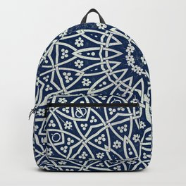 Mandala Spirit, Boho Art Backpack