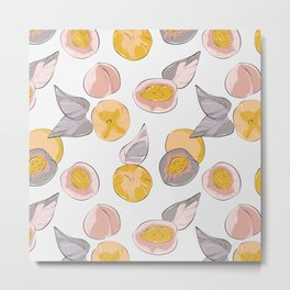 Peach Metal Print