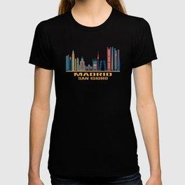 Madrid San Isidro Spain Skyline T-shirt
