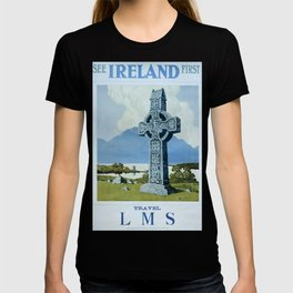 See Ireland First Vintage Travel Poster T-shirt