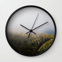 roan mountain Wall Clock