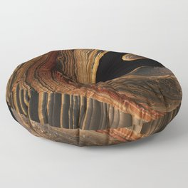 Tiger's Eye Canyon Floor Pillow