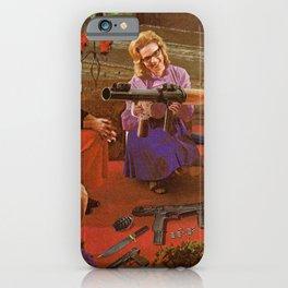Aunt Daisy's Tea Party iPhone Case