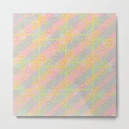 neon capri tiles Metal Print
