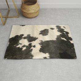 Black & White Cow Hide Rug