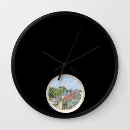 Vision in a whole, Aruba Wall Clock