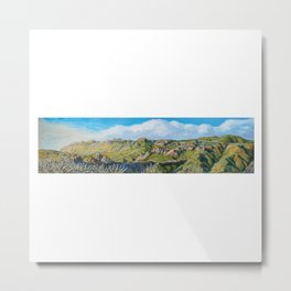 The View From Decker Canyon Road Metal Print