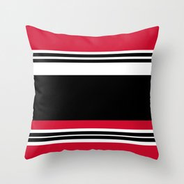 Chicago Red Throw Pillow
