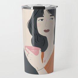 Quaran-tea time Travel Mug