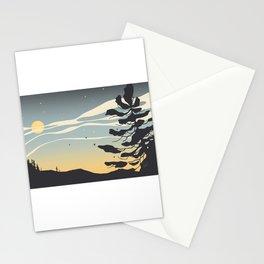 Algonquin Moonrise Stationery Cards