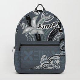 Vintage Samoan Turtle Collage Backpack