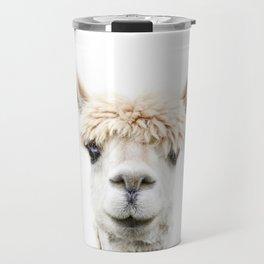 Alpaca Bangs Travel Mug